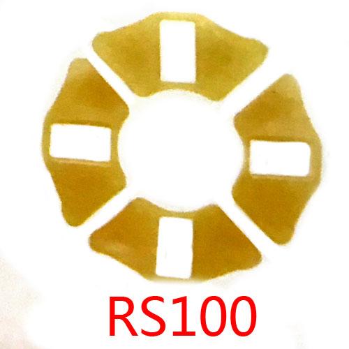 RS100缓冲胶块,rs100减震胶垫