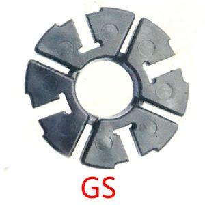 摩托车配件缓冲胶块 GS125减震胶垫