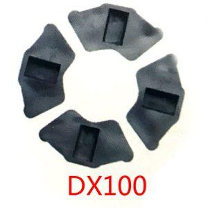 摩托车配件缓冲胶块 DX100减震胶垫