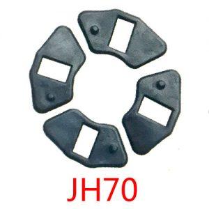 摩托车配件缓冲胶块 JH70减震胶垫