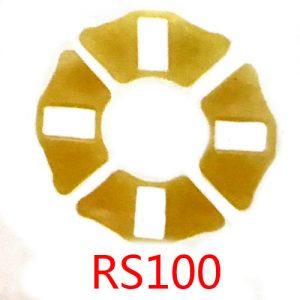 摩托车配件缓冲胶块 RS100减震胶垫