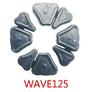 摩托车配件缓冲胶块 wave125减震胶垫