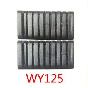 适用于五羊本田WY125脚踏胶厂家批发-广星摩配